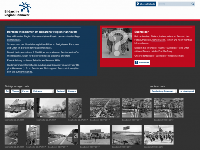 Website: Bildarchiv Region Hannover