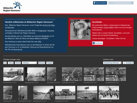 Website: Bildarchiv Region Hannover