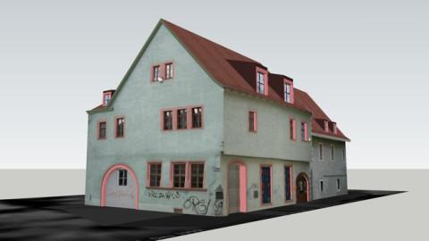 3D-Modell des Druckgrafischen Museums »Pavillon-Presse Weimar«
