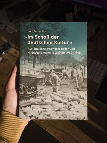 Weimarer Schriften 73. »Im Schoß der deutschen Kultur«, Einband Titel