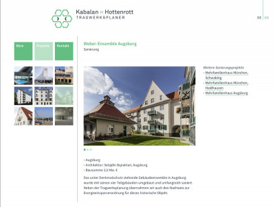 Website »Kabalan ›‹ Hottenrott«